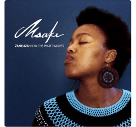 Msaki - Smiling at the Moon Tripping Over Bass Drums (feat. Umle)